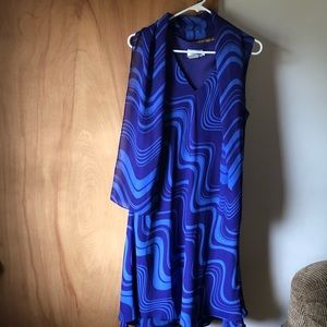 CDC women's size 14 purple blue dress